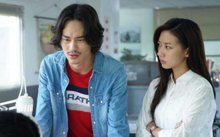陳妤被男星「猛拋媚眼」:是他入戲方式?