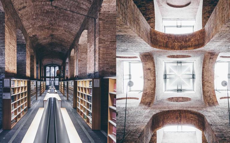 不在旅遊指南上!巴塞隆納百年蓄水池活化而成的圖書館
