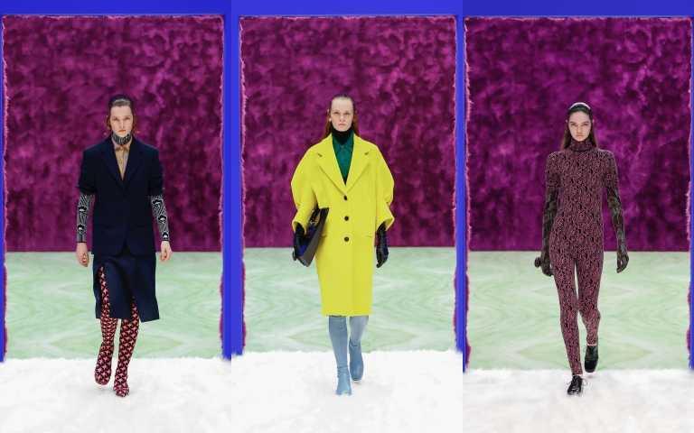 探索對立的中間地帶 PRADA 2021秋冬時裝週不僅重新利用男裝週場景 更將男裝輪廓重新詮釋