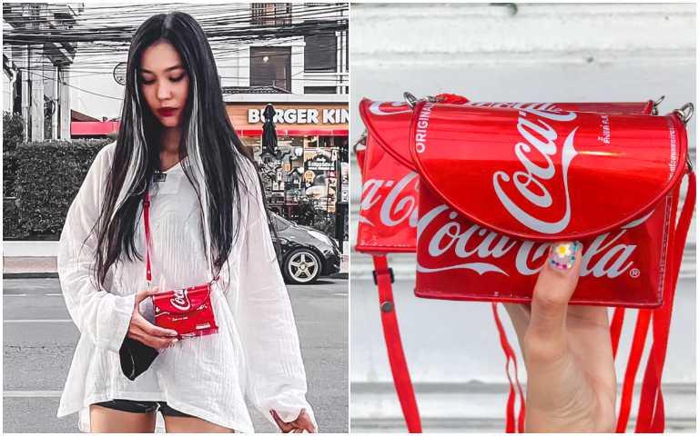 廢料重生!可樂罐被泰國大叔改造成時尚小包,引起搶購熱潮!
