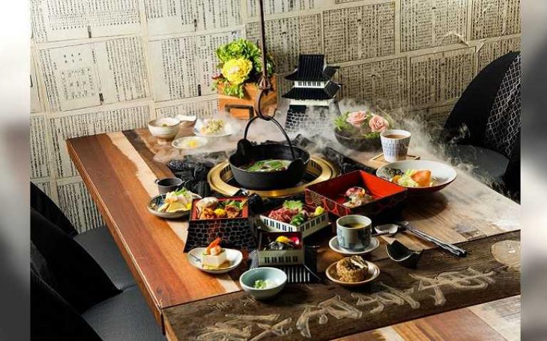 燒肉X火鍋名店雙強聯手 在百年真跡老件復古空間享用無菜單私廚料理