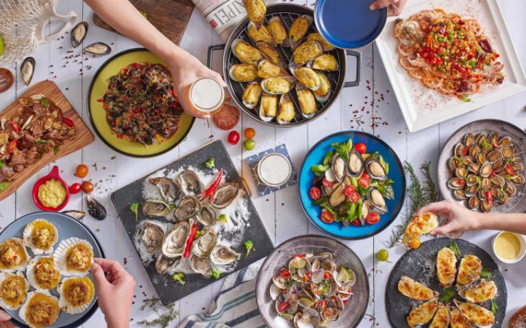吃到飽控請注意!精選潮貝、中菜、加拿大美食三大主題菜色 挑戰饕客食量極限