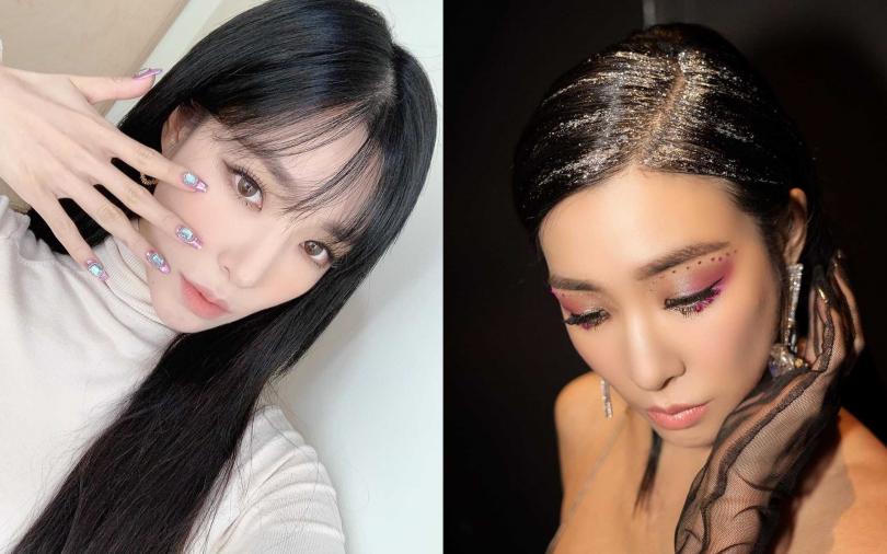 網友狂敲碗!Tiffany的神美性感眼妝、bling bling風美甲造型重點全幫你抓出來啦!