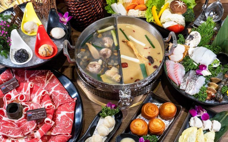 體內防疫召集令!黃金蜆、黨蔘雞湯熬煮火鍋湯頭 豐富營養提升防禦力