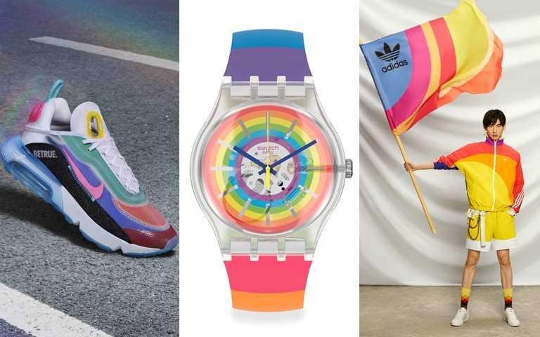 時尚圈掀起Pride平權主題!用彩虹色擁抱多元 每人都是獨一無二的耀眼光芒!