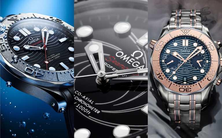 潛進未來時刻!歐米茄「Seamaster海馬」系列潛水300米腕錶 多金材質百變嶄新樣貌