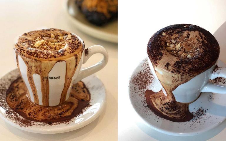 邪惡奶蓋做起來!不用考驗形象,在家就能輕鬆喝的髒髒咖啡