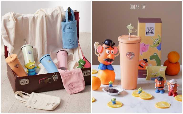高顏值環保杯!「Oolab良杯製所」玩具總動員吸管杯+防塵塞,95折優惠手刀買起來!