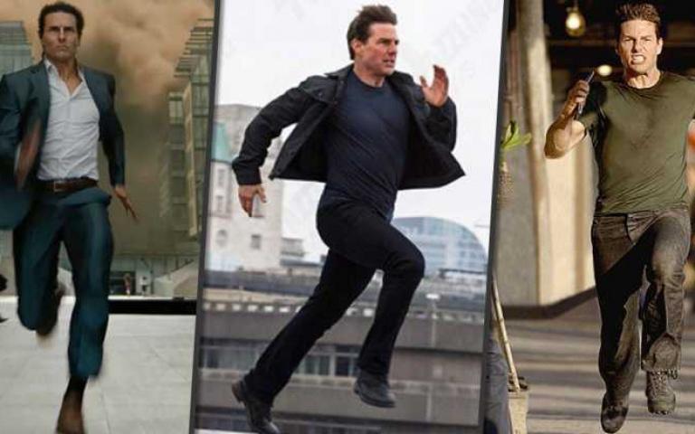 最會在螢幕上跑步的男子~ Tom Cruise!