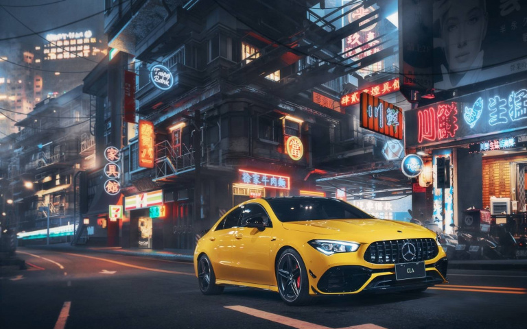 「黑色控」請注意!Mercedes-AMG CLA 黯夜版 限時限量在台發售