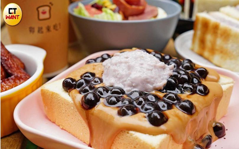 人氣創意早午餐 推「龍舟麵線、芋泥珍奶厚片」冬季新菜色