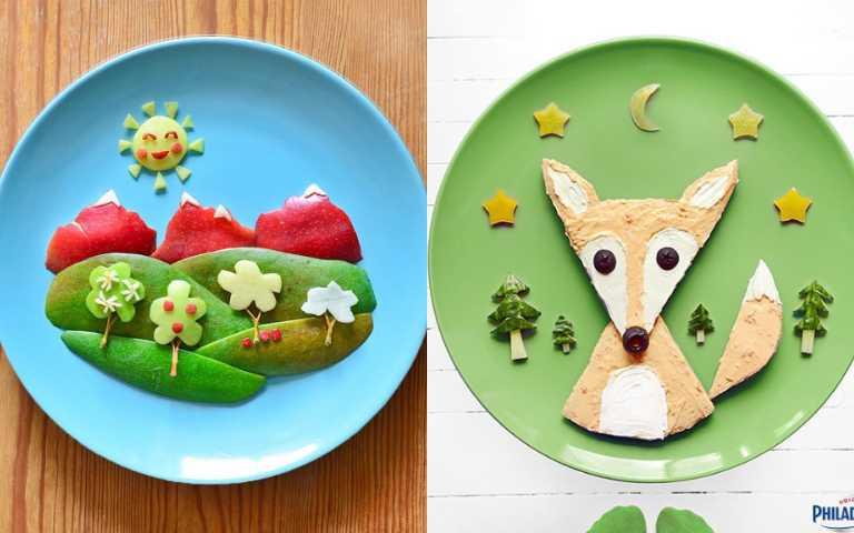 吃貨藝術家創意無限,快跟著食物一起走進挪威的森林吧!