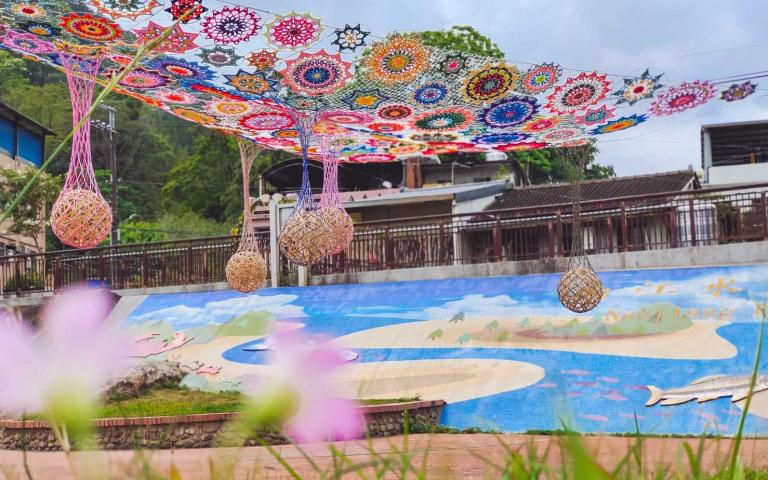 繡球花開了!最美山城花卉節開跑 三大裝置藝術、繽紛花徑超好拍