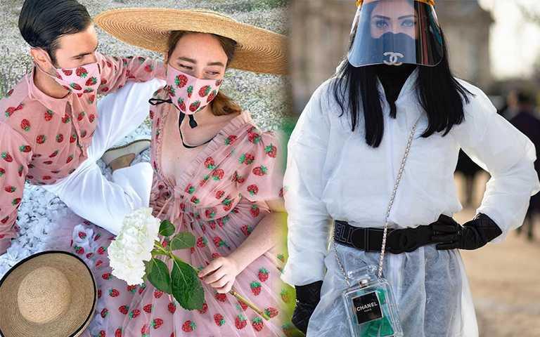 比中衛口罩更狂! 「Couple款、奢華珍珠」浮誇口罩2.0