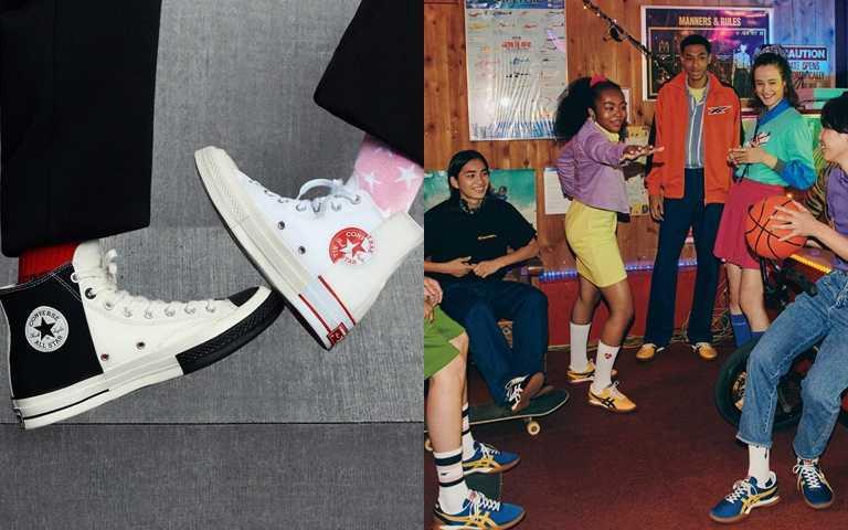 球鞋也玩Mix n Match?解構組合、復古復刻混搭系設計 一雙可以穿四季的百搭鞋!
