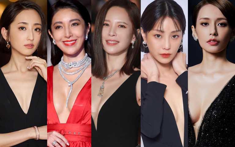 金鐘55╱紅毯深V制霸、典禮氣質取勝 眾家千萬珠寶為女星璀璨妝點百變樣貌!