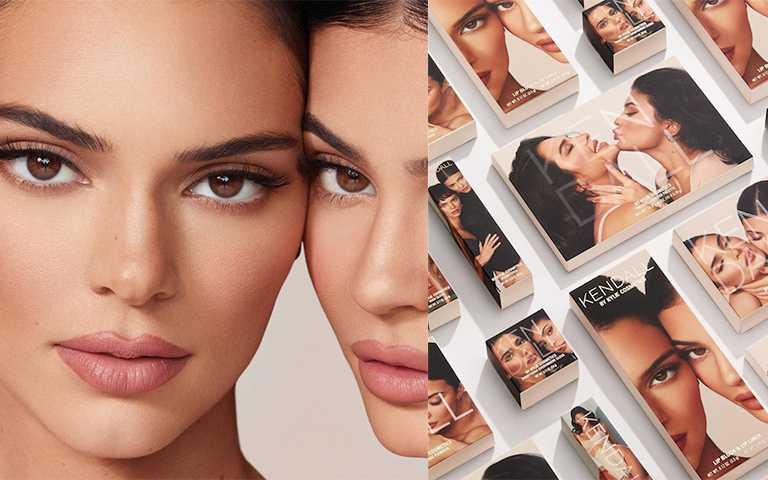 史上最賺姐妹推美妝「Kendall Jenner」聯名,開賣同時完售!