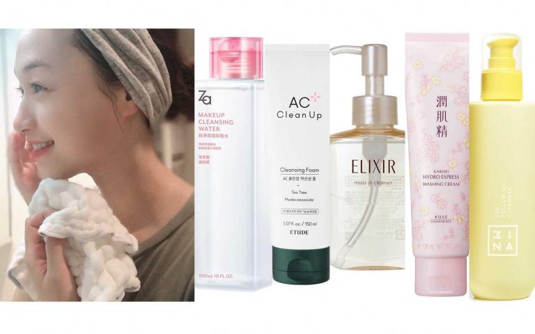 美妝版討論度最高5款洗卸新品!痘痘肌專屬、先油後膜新觸感、超高保濕力、溫和無酒精…該選哪一款?