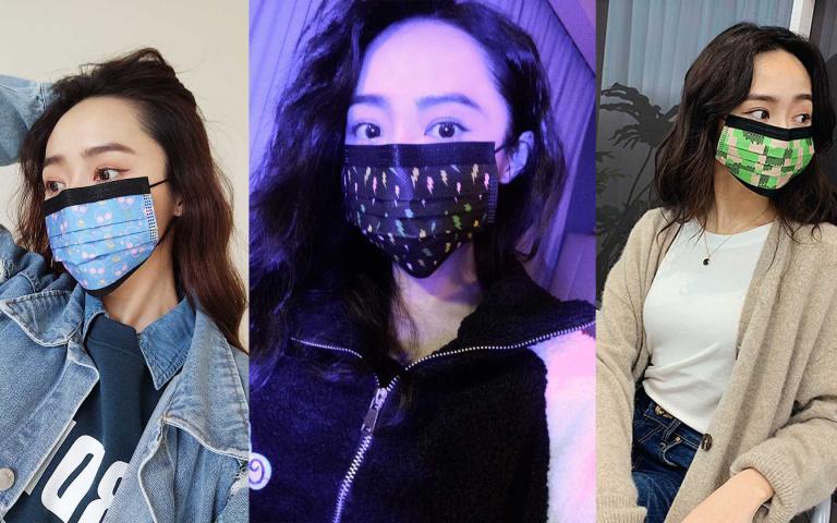 跨年跑趴必買!超狂螢光口罩讓你一秒變潮男潮妹 最新時尚配件就是它!