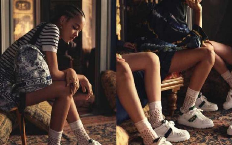 復古與前衛的綜合體:DIOR推全新Dior-ID休閒鞋,讓女孩必備小白鞋清單又+1
