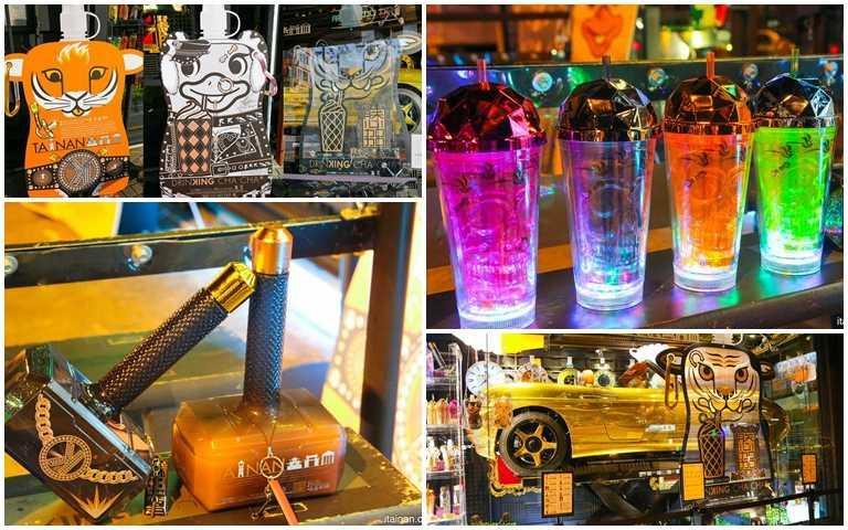 「雷神之鎚」用喝的?台南最潮手搖飲開幕,網美必買「璀璨啞鈴瓶」