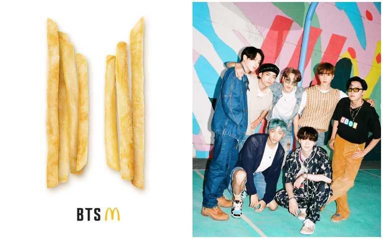 全球阿米吃起來!防彈少年團x麥當勞推出BTS專屬套餐,搭配2款全新沾醬台灣也吃得到!