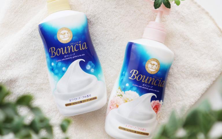 日本女孩最愛Bouncia沐浴乳 期間限定!!屈臣氏獨家Bouncia濃密泡沐浴禮盒登場