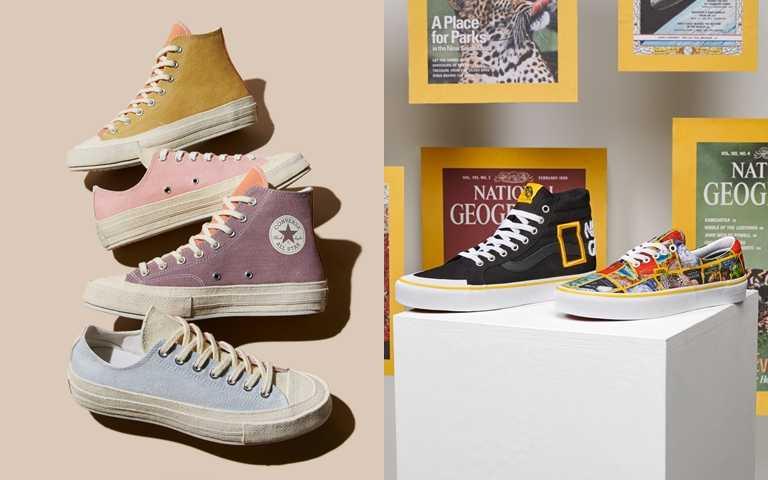 Converse以環保概念今夏推出馬卡龍配色帆布鞋 實體太美!真的要收!