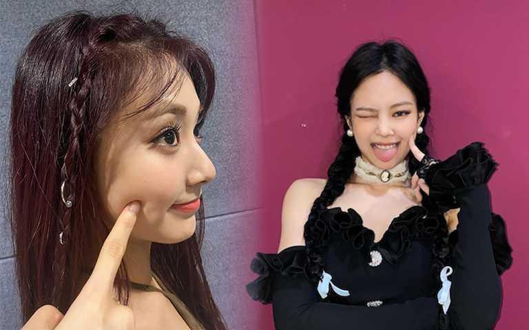 Twice、Jennie、太妍都在綁:今夏最潮的3種編髮LOOK