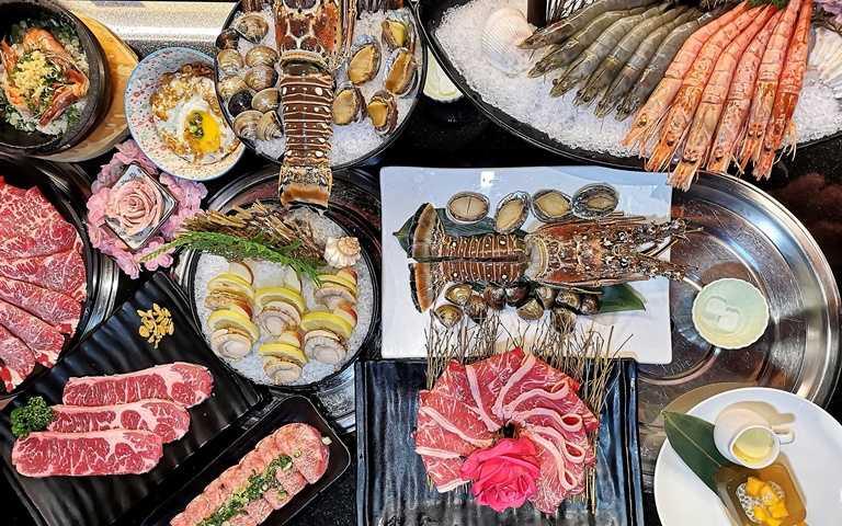380吃加勒比海大龍蝦!台北「網美燒肉吃到飽」頂級食材上桌 現省千元