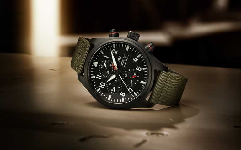 翱翔天際捍衛先鋒!IWC「Top Gun」海軍空戰部隊飛行員專用腕錶 特別市售款限量發行