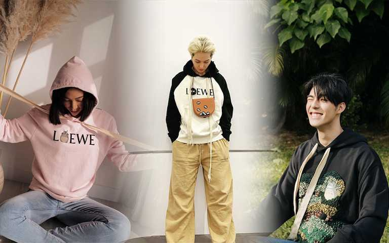 LOEWE × Totoro龍貓超Q聯名!陳昊森、宋旻浩、MOLLY都穿上它賣萌