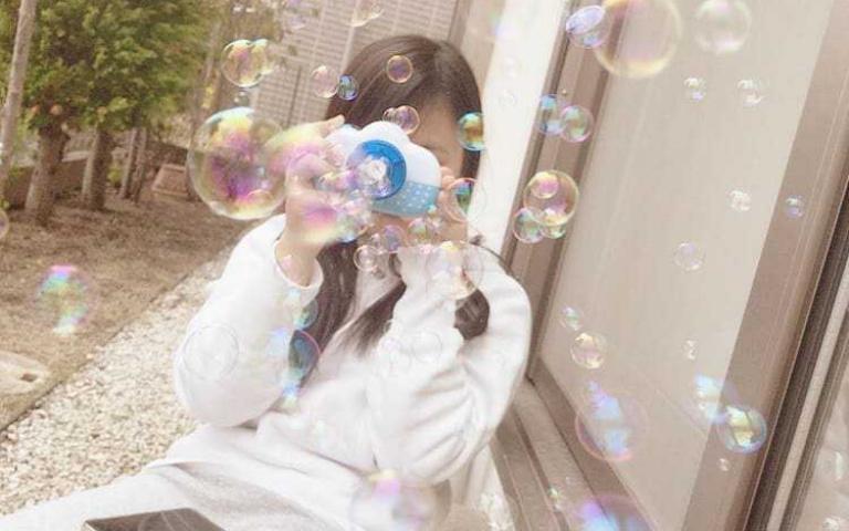 百元有找!櫻花妹都在搶的「泡泡相機」,根本是拍照必備神器啊!
