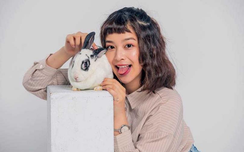 【寵物情緣】老媽取名三杯表不滿 蔡祥違抗母命當兔媽