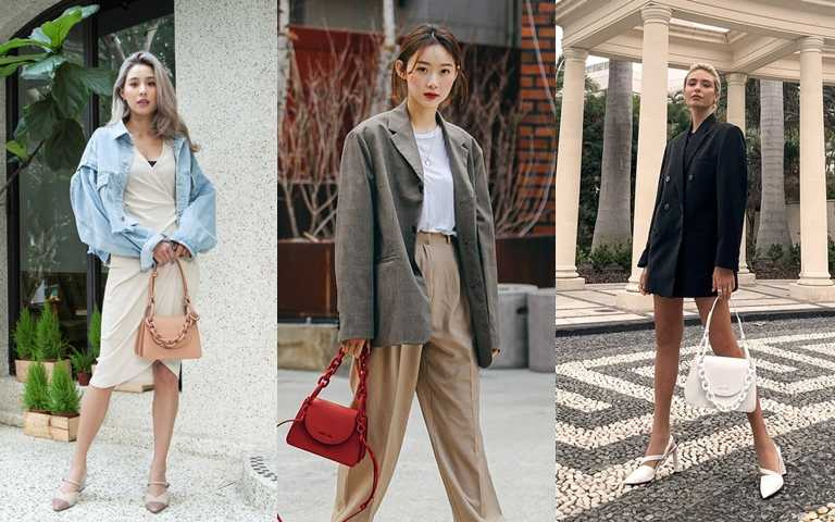 最夯的穿搭關鍵字#粗鍊包 粉霧新色與個性粗鍊設計是潮人必收的春夏配件!