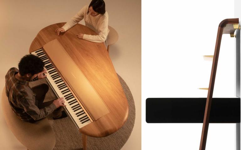 鋼琴也可以是別緻家居!將音樂與生活融合的絕美鋼琴