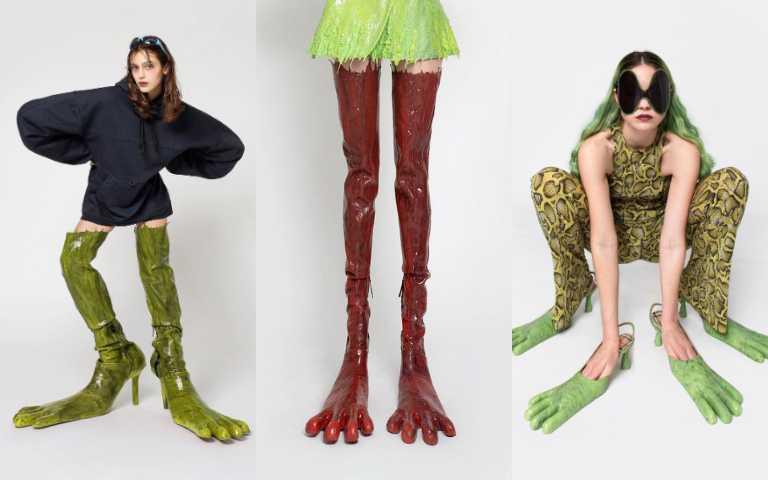 義大利製「怪獸鞋履」被秒殺,不得不說時尚真的很難懂啊…