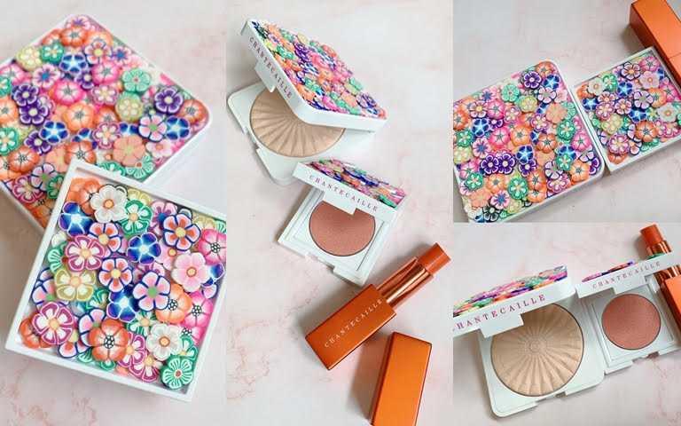 貴婦品牌香緹卡推超可愛限量夏妝!粉盒上開滿了五彩繽紛的超立體小花,實在太有少女心了~~~