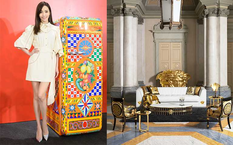 極美46萬的奢華冰箱!Dolce Gabbana、VERSACE推頂級傢具系列