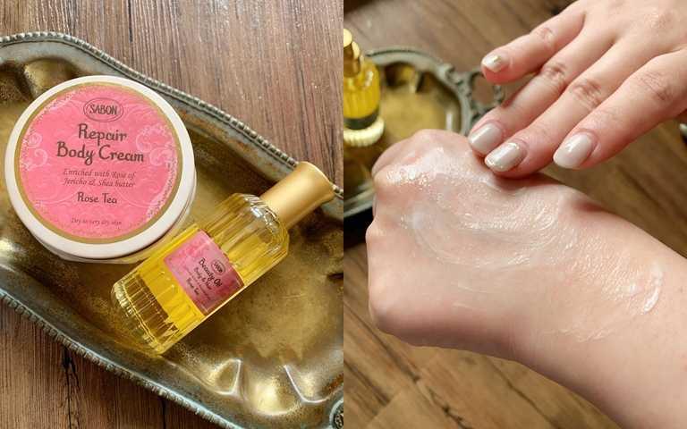 冬季乾癢只擦身體乳絕對不夠~強力推「油+霜」搭配用法,保證肌膚又滑又嫩滋潤度破表!