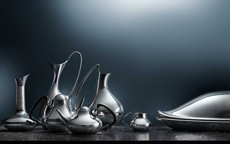 百年經典銀藝禮讚!喬治傑生集結4大藝術風格銀雕,大推後疫情時代宅品味必收藝術傑作!