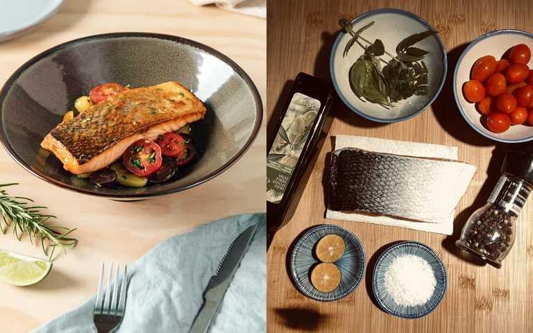 主廚級美味!慢慢煎鮭魚