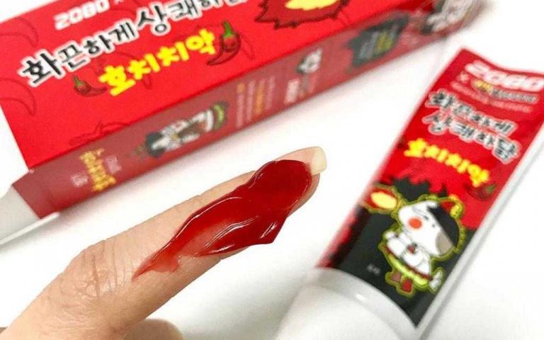 辣到你哭?韓國「辣雞牙膏」就是要挑戰你的味蕾 真實口味竟然是...