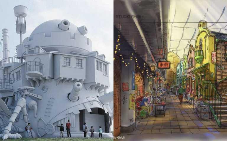 日本「吉卜力公園」2022年登場!重現宮崎駿經典動畫《龍貓》、《神隱少女》奇幻場景!