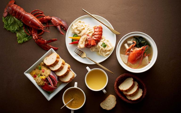 奢華無極限!五星飯店推出「龍蝦三重奏」料理,消費滿額再送「高級住宿券」!