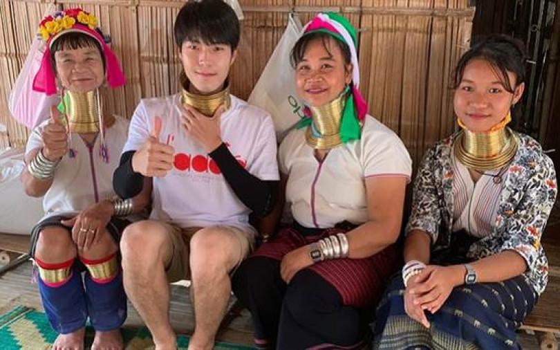 男星泰國出外景受職災 脖子遭勒還大面積破皮