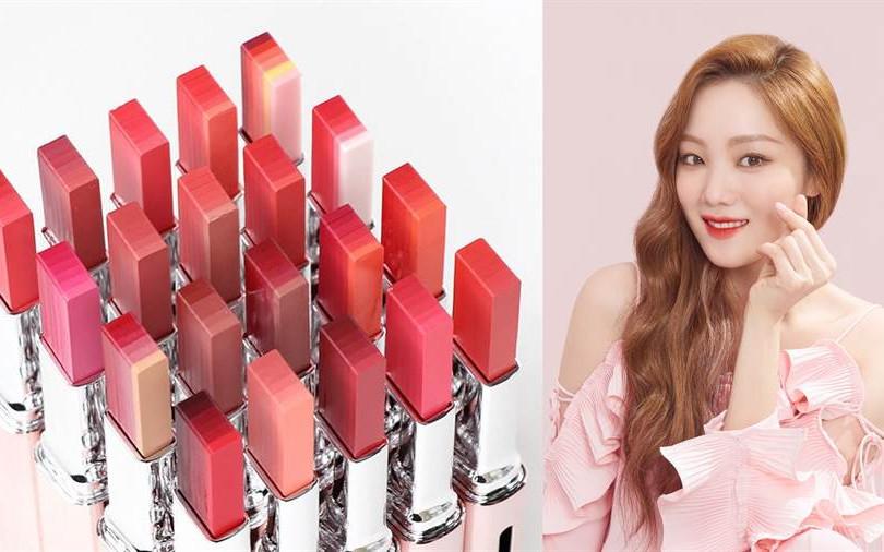 LANEIGE業界最多「六色唇膏」,擦上#6、#14變韓妞、美到鏡子破裂!