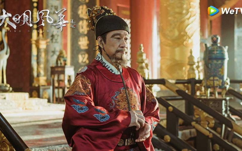 王學圻《大明風華》領便當 孫兒告別文藏洋蔥