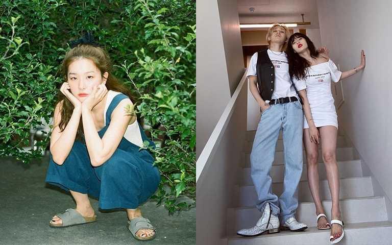 別再穿球鞋啦!韓女星早已改穿帥氣涼鞋!