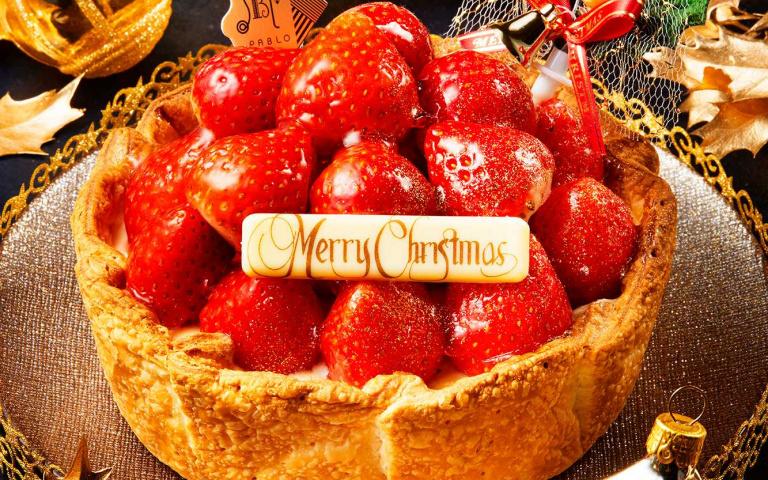 鋪滿22顆根本草莓山丘!日本人氣甜點店推出超狂「豪華版草莓派對聖誕起司塔」預購還享超值優惠